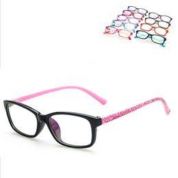 Myopia Computer NZ - Wholesale- Fashion Cute Eyeglasses Frame 6-16 Years Old Child Myopia Optical Glasses frame Boys Girls Computer Glasses Oculos De Grau