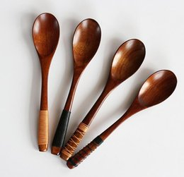 Japanese Tableware NZ - 20*4cm Natural freshness wooden spoon Japanese-style export tableware & Japanese Tableware NZ | Buy New Japanese Tableware Online from Best ...