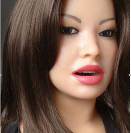 Solid Love Dolls Canada - Japanese Real Love Dolls Adult Male Sex Toys Semi-solid Silicone Sex Doll Sweet Voice Realistic Sex Dolls Hot Sale
