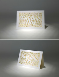 Christmas Cards Invitations Canada - Hot Selling Pure White Customized wedding Invitation letters cards wholesale wed invitation European style in good price via DHL FREE