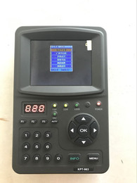 Wholesale KPT-963 3.5 inch cheap satellite finder Only For DVB-S Signal Good price