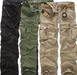 Discount Army Color Mens Cargo Pants | 2017 Army Color Mens Cargo ...