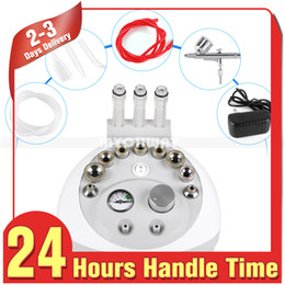 Discount skin diamond machine - Top Seller 3 In 1 With Sprayer Vacuum For Head Spot Removal Microdermabrasion Facial Machine Diamond Skin Peeling