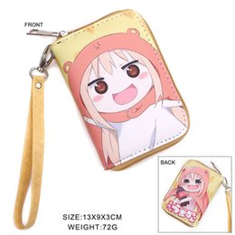 $enCountryForm.capitalKeyWord NZ - Hot Sale Himouto Umaru-chan Cartoon Wallet Colorful Zipper Pocket Purse Handbag With Pockets and Chains