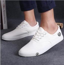 Vente en gros Casual 2017 nouveaux hommes chaussures décontractées homme appartements respirant hommes mode classique en plein air chaussures hommes toile chaussures pour hommes Zapatos de hombre