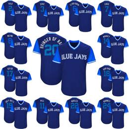 eafb8add496 ... Jersey Free 20 Josh Donaldson Bringer of Rain 2017 Little League Players  Weekend Kevin Pillar Jose BautistaToronto Blue ...