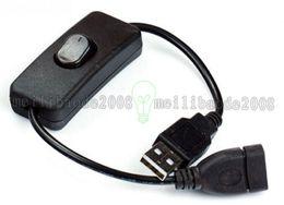 $enCountryForm.capitalKeyWord Australia - 28cm Black USB 2.0 To DC Charging Cable With Switch 5V 2A USB Wire To DC For Orange Pi For Orange Pi One Banana Pi M2 MYY