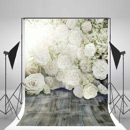 Wedding muslin backdrop online shopping - 5x7ft x220cm Wedding Backdrops Flowers Romantic Photography Backgrounds for Photo Studio fond pano de fundo para estudio Fotografia