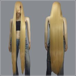 extra long cosplay wig 2019 - 150cm Beige Blonde Styleable Extra Super Long Cosplay Wigs cheap extra long cosplay wig