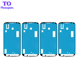 Samsung S5 Mini Touch Screen Australia - 10Pcs Pre-cut Adhesive Glue Tape Sticker For Samsung Galaxy S2 S3 mini S4 mini S5 mini Front Housing LCD Touch Screen Frame Bezel