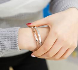 Name Plate Jewelry Sets Australia - Gold Bangle Bar Bracelets Custom Engraved Name Bracelet Personalized Initials Bangles for Women Jewelry Girls Gift