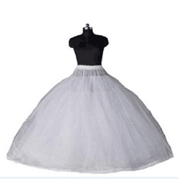 petticoats UK - 2020 New Arrival Ball Gown 8 Layers Tulle Sexy Wedding Dresses Petticoats without Hoops Luxury Quinceanera Dresses Underskirt Long Crinoline