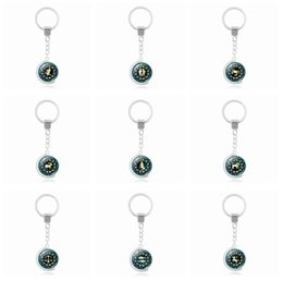 Globe plastic ball online shopping - Brand new Rotary Globe Twelve Seasons Time Gemstone Keychain Pendant Alloy Key Ring KR224 Keychains mix order pieces a
