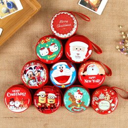 $enCountryForm.capitalKeyWord Australia - Christmas wallet child's Xmas cartoon purse 10 styles bag for student kid best Christmas gift Free shipping