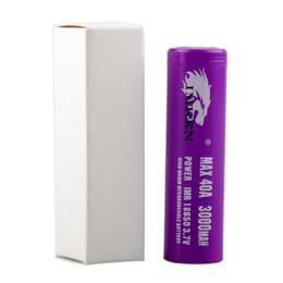 China High Quality 18650 Battery 3000mah 40a battery for Electronic Cigarette box mod Vaporizer Mod vape suppliers