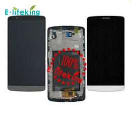 g3 display 2019 - Original LCD Best Quality For LG G3 D855 D850 LCD Display Touch Screen Digitizer Assembly Replacement with & without Fra