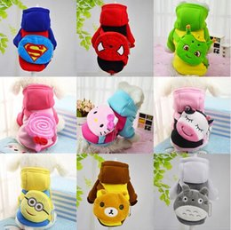 Wholesale XS XXL Pet Dog Clothes Coat With Backpack Jacket Puppy Small Dogs Clothing Cat Costume Apparel Hoodies Chihuahua Yorkie Warm