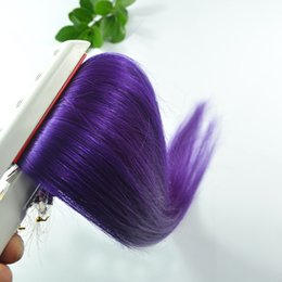 Discount purple remy hair extensions 2017 hair extensions weft 2017 purple remy hair extensions micro loop human hair extensions purple color brazilian remy virgin pmusecretfo Images