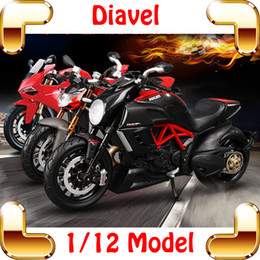 $enCountryForm.capitalKeyWord Canada - New Arrival Gift F4RR Diavel 1 12 Model Motorcycle Car Collection Scale Alloy Parts Decoration Toys Static Motorbike Present