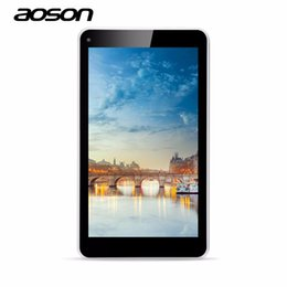 allwinner 3g tablets UK - Wholesale- Aoson KIDS Tablet M751S-BS 7 inch Allwinner Tablet Quad Core Capacitive Touch Screen WIFI 3G External Android 4.4 8G Tablet PC