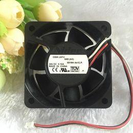 6cm Fan Australia - Nidec 6CM 6025 D06K-24TU 24V 0.1A 2 line is suitable for printer   inverter fan