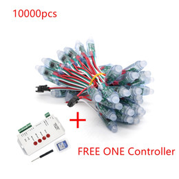 $enCountryForm.capitalKeyWord UK - Umlight1688 10000pcs 12mm WS2811 2811 IC RGB Led Module String Waterproof DC5V Digital Full Color LED Pixel Light Free Controller