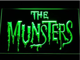 $enCountryForm.capitalKeyWord Canada - The Munsters Logo Bar Beer pub club 3d signs 7 color LED Neon Sign man cave