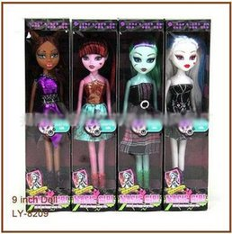 $enCountryForm.capitalKeyWord Australia - INS HOT Monster High Dolls 9 Inch Elf Monster High School Girls Dolls Kid's Dolls Toys Novelty Birthday Gift Ship By DHL