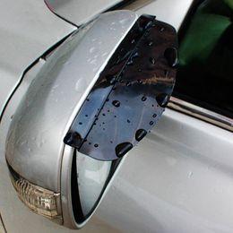 $enCountryForm.capitalKeyWord Canada - Universal Flexible PVC Car Rear View Mirror Sticker Rain Shield Guard Auto Rearview Mirrors Rain Shade Rainproof Eyebrow Cover