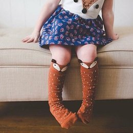 Images for lovely baby online shopping - HOT Kids Lovely D Knee High Fox socks high quality infant Baby Boy Girl Leg Warmers stocking suitable for Y Cotton Animal image