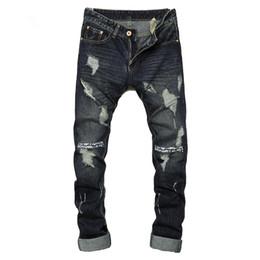 Discount Dark Blue Skinny Jeans For Men | 2017 Dark Blue Skinny ...