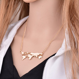 World map pendant online shopping world map pendant necklace for sale 2017 new arrival european and american style fashion jewelry personality exaggerated world map portfolio necklace pendant gumiabroncs Gallery