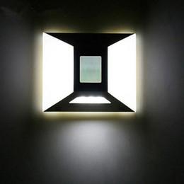 Under Cabinet Night Light Canada - Battery Operated Motion Sensor Light Roof Wall Lamp Wardrobe Closet Light Corridor Led Night Lights Emergency Light Under Cabinet Lights