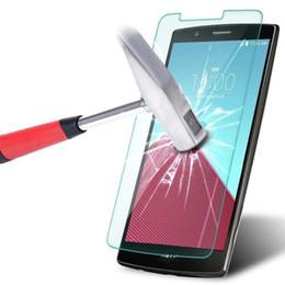 China Premium Tempered Glass For LG V10 Magna Spirit Joy LS751 LS770 C40 Leon L34C F70 LS660 L80 vs880 Screen Protector Film 50pcs Free Shipping suppliers