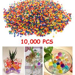 10000Pcs / мешок цвета шарика воды шарика пейнтбола Bullet воды Orbeez игрушка Воздух Pisol Bibulous для игрушки Кристаллическая грязевая почва