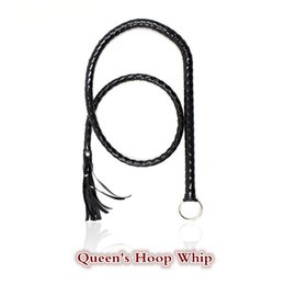 Flirt Games Adult Canada - Flogger Long Whip Leather 1.4m with hook flirting Whip fetish spanking bdsm sex toys adult products for couples women sm games