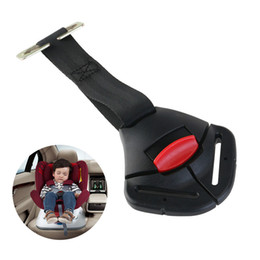 Wholesale Black Car Baby Safety Seat Clip Fixed Lock Buckle Safe Belt Strap Harness Chest Child Clip Buckle Latch Toddler Clamp