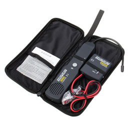 Universal Dc Connectors UK - Universal Automotive Cable Wire Tracker Short & Open Circuit Finder Tester Car Vehicle Repair Tone Tracer 6-42V DC Tool EM415PRO