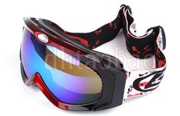 $enCountryForm.capitalKeyWord Canada - Moq=1pcs TOP Quality Skiing Motorcycle Goggle Outdoors Sports Sunglasses Windproof Antifog Sphere Lens Glasses 5 Colors Free Shipping