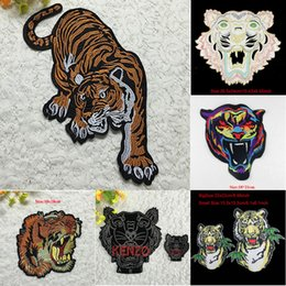 $enCountryForm.capitalKeyWord Canada - 20pcs Tiger Military Patches Embroidered Patch For Clothing Motorcycle Jacket parches Cocktail Dress Jean Fabric Patchwork Badge Appliques