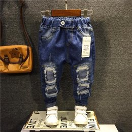 $enCountryForm.capitalKeyWord Canada - Fashion Baby Kids Boys Denim Jeans Casual Hole Jeans Pants Trousers 2-7Years