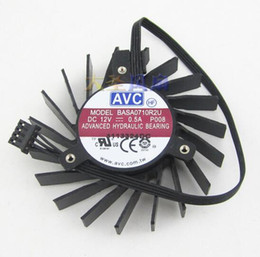 dual hard drives 2019 - Wholesale: original AVC BASA0710R2U 0.5A Quadro Q4000 2GB 4 line graphics fan discount dual hard drives