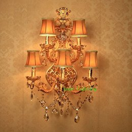 Discount Large Wall Sconces   2017 Large Wall Sconces Lighting on ...