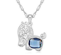 $enCountryForm.capitalKeyWord Canada - 2017 1000SE Quality goods Crystal Necklace Dolphin spirit High-grade Pendant jewelry sale