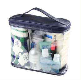 makeup brushes purpose UK - Transparent Toiletry Cosmetic Bag Organizer Beauty Products Brushes Lipstick Bags Travel Special Purpose Makeup Cases Accessories DHL