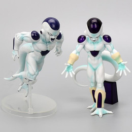 $enCountryForm.capitalKeyWord NZ - Comic Anime 19cm DXF THAT HURT! Freeza Freezer PVC Action Figures Akira Toriyama Dragon Ball Z Frieza Final State Model Toys