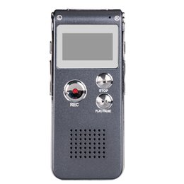 China Wholesale-Usb Mini Digital 8gb Voice Recorder Pen Dictaphone Mp3 Player Grabadora Gravador De Voz Enregistreur Vocal Rec Telephone Grey cheap rec digital voice recorder suppliers