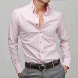 $enCountryForm.capitalKeyWord Australia - men new style shirt tailor made long sleeve groom white formal work shirt high quality leisure loose shirt