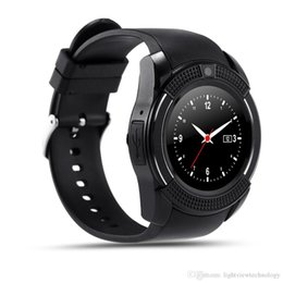 Nuovo arrivo 8 colori V8 Smart Watch Phone Bluetooth 3.0 IPS HD Full Circle Display MTK6261D Smartwatch VS GT08 DZ09