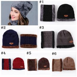 c92a729ec76 UNISEX Warm Cap Thick Winter Hat Fashion Skullies Beanies Wool Hat Cap  Beanie Knitted Caps Neck Warmer Warm Hat YYA759